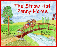 Straw Hat Penny Horse